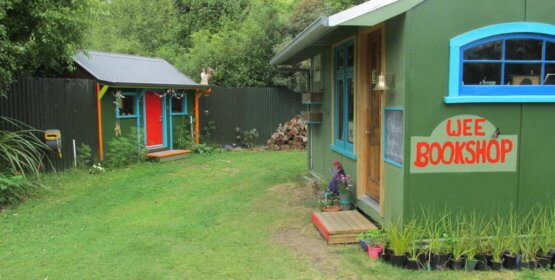 """RNZ Kim Hill: Ruth Shaw – Manapouri's """"Two Wee Bookshops"""""""